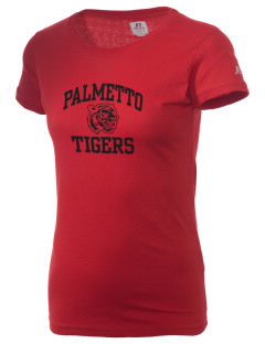 Palmetto High School Tigers  Russell Women's Campus T-Shirt