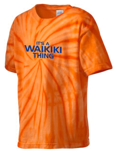 Waikiki Elementary School Waikiki Warriors Kid's Tie-Dye T-Shirt