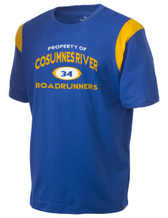 Cosumnes River Elementary School Roadrunners Holloway Men's Rush T-Shirt