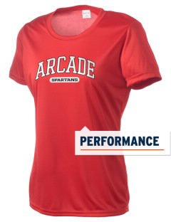 Arcade Middle School Spartans Women's Competitor Performance T-Shirt