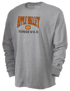Apple Valley High School Sundevils  Russell Men's Long Sleeve T-Shirt