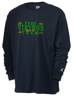 Valley View High School Vikings  Russell Men's Long Sleeve T-Shirt