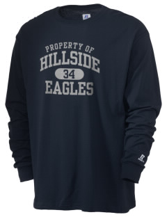 Hillside High School Eagles  Russell Men's Long Sleeve T-Shirt