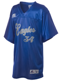 Hillside High School Eagles Russell Kid's Replica Football Jersey