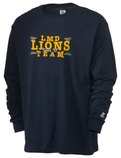La Mesa Dale Elementary School Lions  Russell Men's Long Sleeve T-Shirt