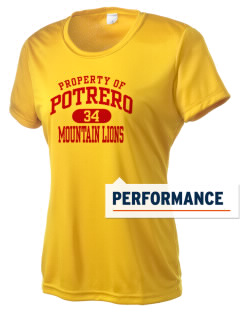 Potrero Elementary School Mountain Lions Women's Competitor Performance T-Shirt