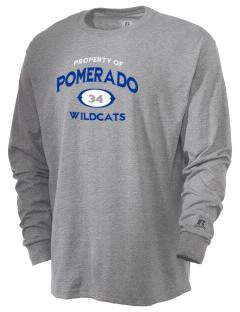 Pomerado Elementary School Wildcats  Russell Men's Long Sleeve T-Shirt