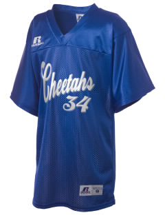 Tierra Bonita Elementary School Cheetahs Russell Kid's Replica Football Jersey