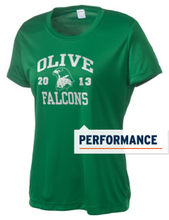 Olive Elementary School Falcons Women's Competitor Performance T-Shirt