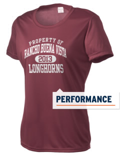Rancho Buena Vista High School Longhorns Women's Competitor Performance T-Shirt