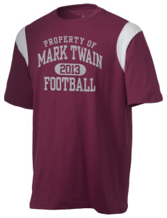 Mark Twain Senior High School Mark Twains Holloway Men's Rush T-Shirt