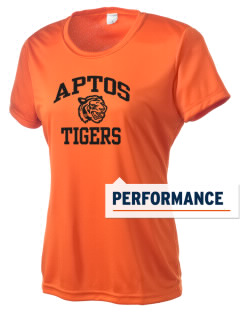 Aptos Middle School Tigers Women's Competitor Performance T-Shirt