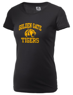 Golden Gate Elementary School Tigers  Russell Women's Campus T-Shirt