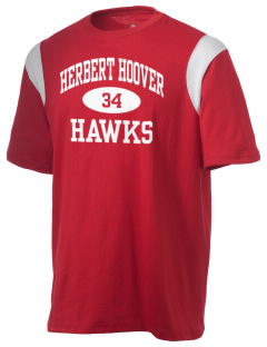 Herbert Hoover Middle School Hawks Holloway Men's Rush T-Shirt