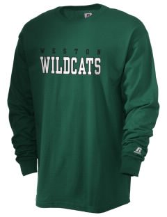 Weston Elementary School Wildcats  Russell Men's Long Sleeve T-Shirt