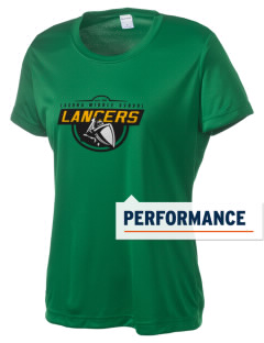 Laguna Middle School Lancers Women's Competitor Performance T-Shirt