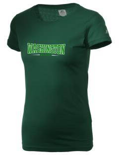 Washington Elementary School Wildcats  Russell Women's Campus T-Shirt