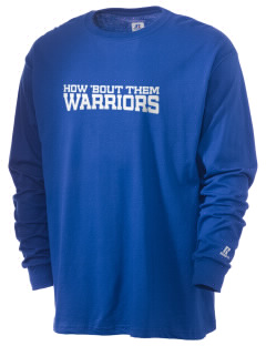 South San Francisco High School Warriors  Russell Men's Long Sleeve T-Shirt