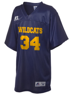 Westborough Middle School Wildcats Russell Kid's Replica Football Jersey
