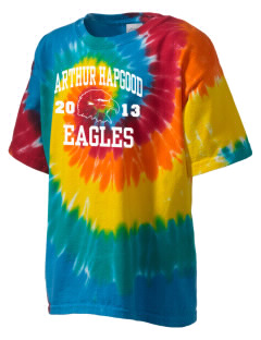 Arthur Hapgood Elementary School Eagles Kid's Tie-Dye T-Shirt
