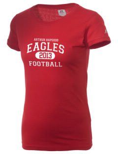 Arthur Hapgood Elementary School Eagles  Russell Women's Campus T-Shirt