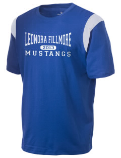 Leonora Fillmore Elementary School Mustangs Holloway Men's Rush T-Shirt