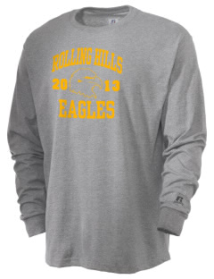 Rolling Hills Middle School Eagles  Russell Men's Long Sleeve T-Shirt