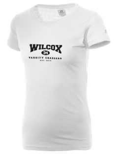 Wilcox High School Chargers  Russell Women's Campus T-Shirt