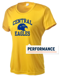 Central Continuation High School Eagles Women's Competitor Performance T-Shirt