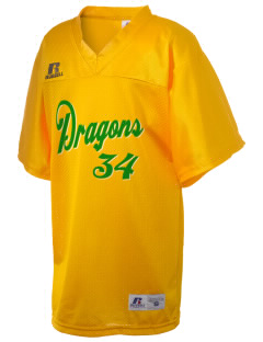 De Laveaga Elementary School Dragons Russell Kid's Replica Football Jersey
