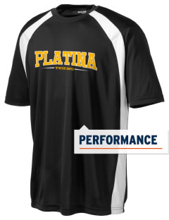 Platina Elementary School Tigers Men's Dry Zone Colorblock T-Shirt