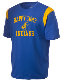 Happy Camp High School Indians Holloway Men's Rush T-Shirt