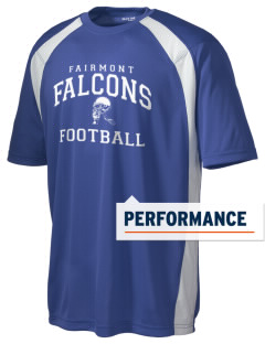 Fairmont Elementary School Falcons Men's Dry Zone Colorblock T-Shirt