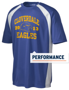 Cloverdale High School Eagles Men's Dry Zone Colorblock T-Shirt