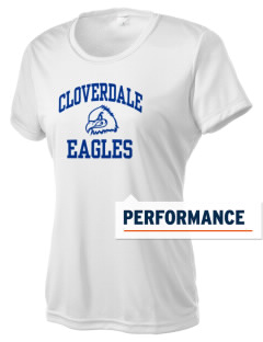 Cloverdale High School Eagles Women's Competitor Performance T-Shirt