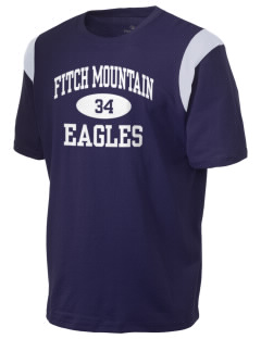 Fitch Mountain Primary School Eagles Holloway Men's Rush T-Shirt