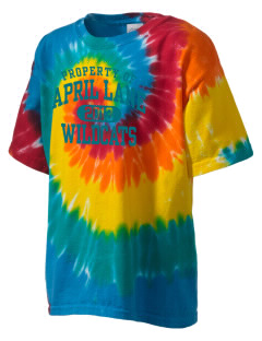 April Lane Elementary School Wildcats Kid's Tie-Dye T-Shirt