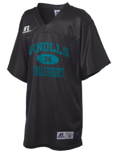 Knolls Elementary School Knolls Knights Russell Kid's Replica Football Jersey