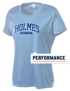 Holmes Junior High School Minute Men Women's Competitor Performance T-Shirt