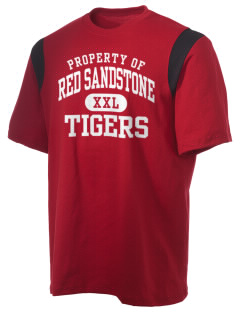 Red Sandstone Elementary School Tigers Holloway Men's Rush T-Shirt