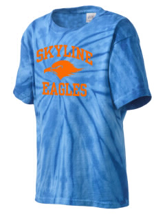 Skyline Elementary School Eagles Kid's Tie-Dye T-Shirt