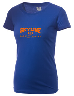 Skyline Elementary School Eagles  Russell Women's Campus T-Shirt
