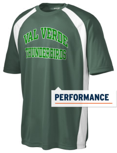 Val Verde Elementary School Thunderbirds Men's Dry Zone Colorblock T-Shirt
