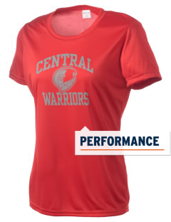 Central High School Warriors Women's Competitor Performance T-Shirt