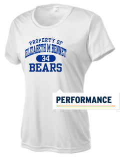 Elizabeth M Bennet Middle School Bears Women's Competitor Performance T-Shirt
