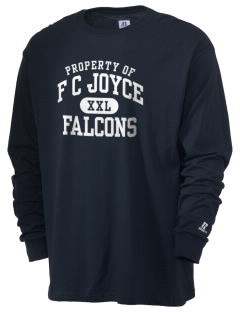 F C Joyce School Falcons  Russell Men's Long Sleeve T-Shirt