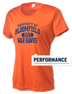 Bloomfield High School War Hawks Women's Competitor Performance T-Shirt