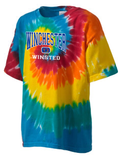 Winchester Alternative High School Winsted Kid's Tie-Dye T-Shirt