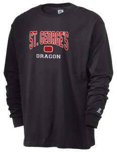St. George's School Dragon  Russell Men's Long Sleeve T-Shirt