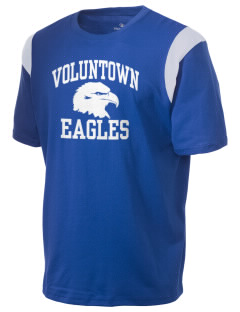 Voluntown Elementary School Eagles Holloway Men's Rush T-Shirt